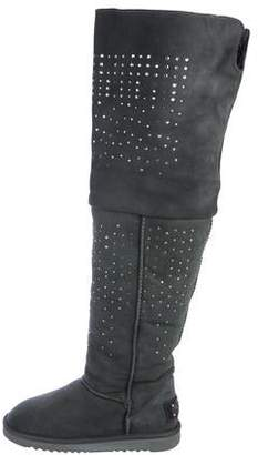 d4f00344bb Australia Luxe Collective Embellished Over-The-Knee Boots