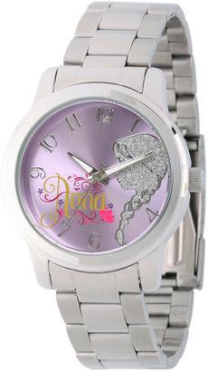 DISNEY Disney Frozen Anna Womens Silver Tone Bracelet Watch-W002161 $60 thestylecure.com