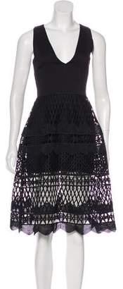 Karina Grimaldi Sleeveless Midi Dress