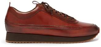 Grenson Sneaker 12 Leather Trainers - Mens - Tan