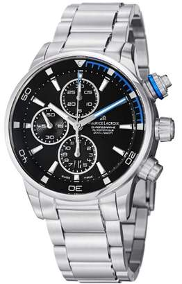Maurice Lacroix Men's 'Pontos' Swiss Automatic Stainless Steel Casual Watch