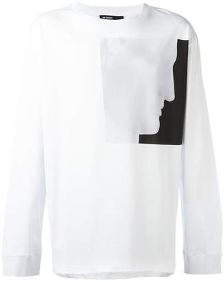 Raf Simons X Robert Mapplethorpe profile print T-shirt