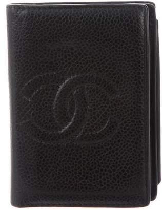 Chanel Caviar Timeless Card Holder