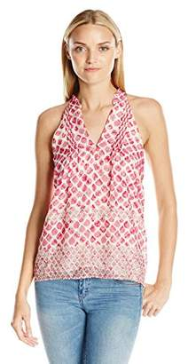Greylin Women's Francis Textured Top-Silk