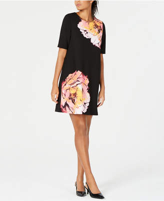 Alfani Printed Sheath Dress