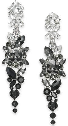 INC International Concepts I.n.c. Floral Crystal Linear Earrings