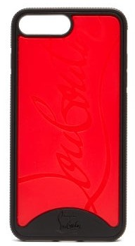 Christian Louboutin Loubiphone Rubber Iphone 7/8 Plus Case - Mens - Black Multi