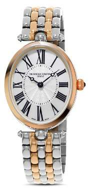 Frederique Constant Art Deco Oval Watch, 34mm x 28mm