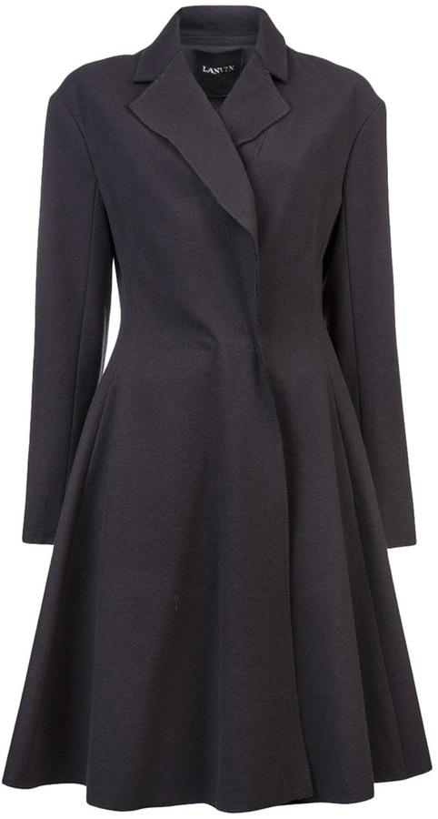 Lanvin Notched lapel coat