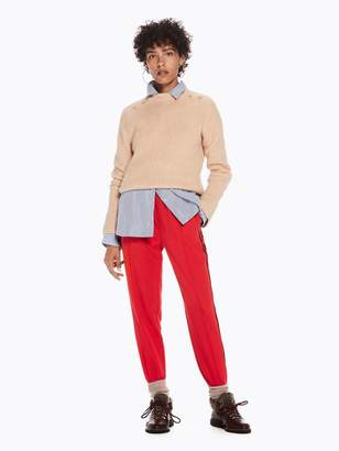 Scotch & Soda Contrast Velvet Stripe Trousers
