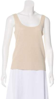 Ellen Tracy Linda Allard Sleeveless Silk Top