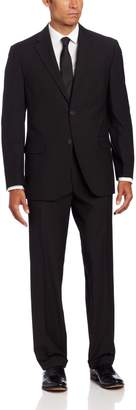 Geoffrey Beene Men's 2 Button Suit, Black