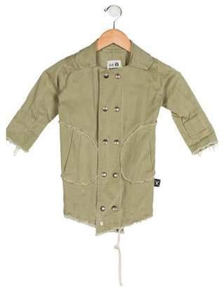 Nununu Girls' Collared Jacket