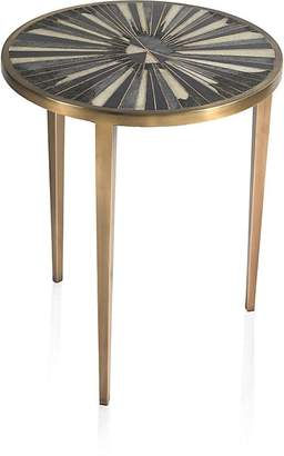 R & Y Augousti Sunburst Shagreen Side Table