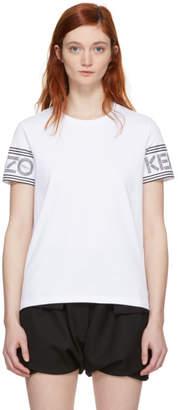 Kenzo White Sport Straight T-Shirt