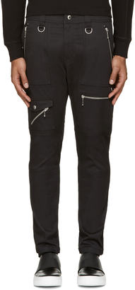Diesel Black P-Grundy Trousers $280 thestylecure.com