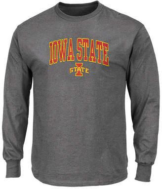 Profile Men's Big & Tall Iowa State Cyclones Wordmark Long Sleeve T-Shirt