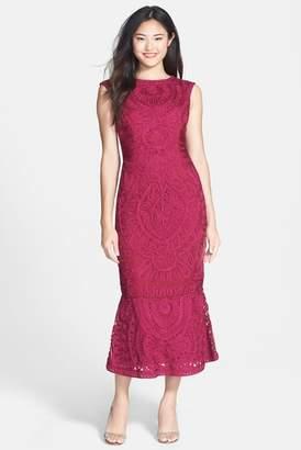 JS Collections Soutache Mesh Dress (Regular & Petite)