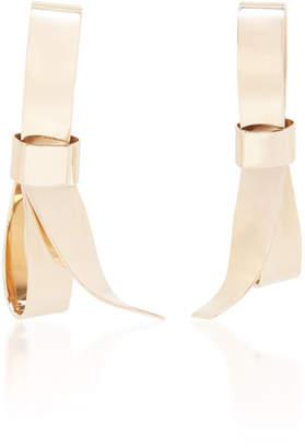 Marni Metallic Bow Earrings