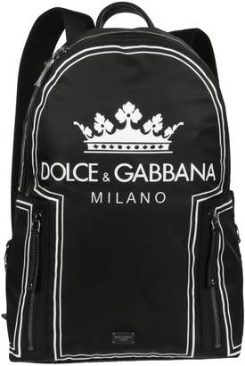 Dolce & Gabbana Baseball Vulcano Backpack