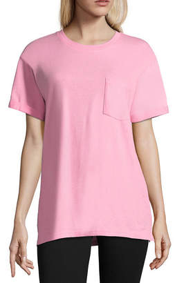 Flirtitude Teenage Dream Oversized Tee - Juniors
