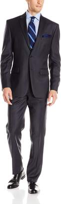 Vince Camuto Men's Flannel 2 Button Modern Fit Suit