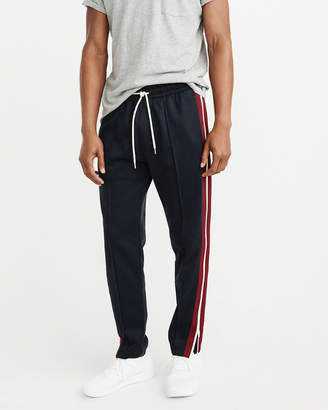 Abercrombie & Fitch Side-Stripe Track Pants