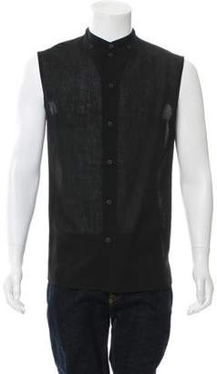Alexandre Plokhov Sleeveless Wool Shirt