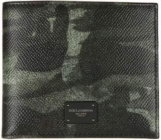 Dolce & Gabbana Camouflage Billfold Wallet