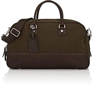 Fontana Milano 1915 Men's Leather-Trimmed Duffel Bag