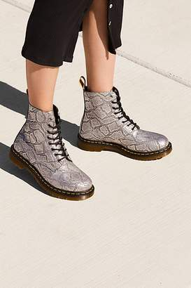 Dr. Martens Pascal Silver Lace Up Boot
