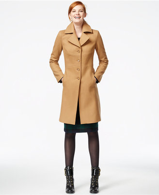 Tommy Hilfiger Topstitched Wool Walker Coat $114.99 thestylecure.com