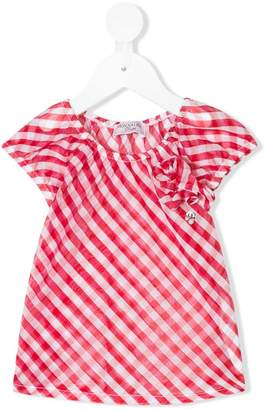 MonnaLisa sheer striped top