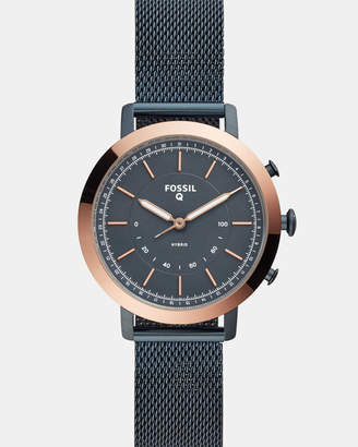 Fossil Q Neely Blue Hybrid Smartwatch