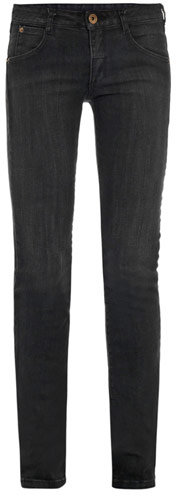 Theyskens' Theory Piran vintage mid-rise skinny-leg jeans