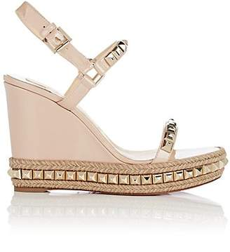 afdf8b7b55f7 Christian Louboutin Women s Cataclou Studded Platform Espadrille Sandals -  Nude