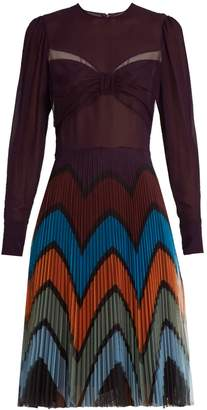 Mary Katrantzou Beta Prunga-print dress