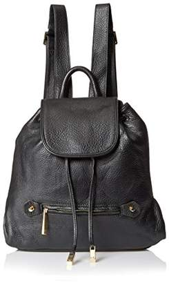 Halston Women's Solid Back pack