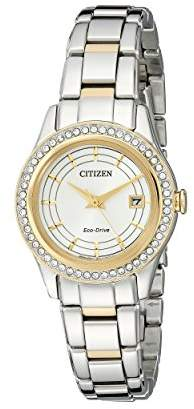 Citizen Eco-Drive Women's FE1124-58A Silhouette Crystal Watch
