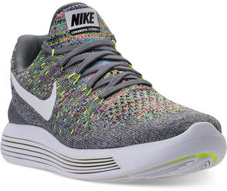 Nike Women's LunarEpic Low Flyknit 2 Running Sneakers from Finish Line $140 thestylecure.com