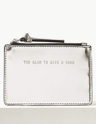 M&S Collection Faux Leather Coin Purse