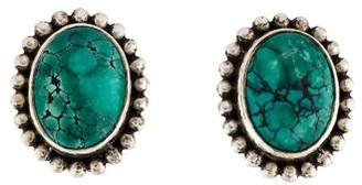 Stephen Dweck Turquoise Clip-On Earrings
