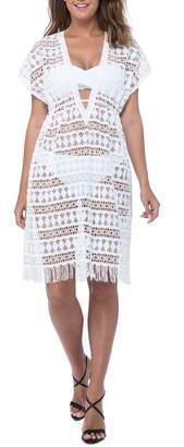 Gottex Profile by Crochet Cover-Up Dress