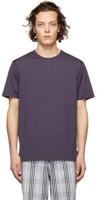 Sunspel Purple Classic T-Shirt