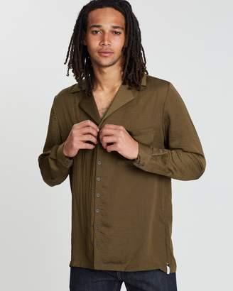 One Teaspoon Faux Silk Shirt