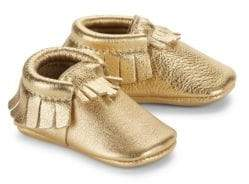 Freshly Picked Baby's Signature Core Moccasin Leather Moccasins