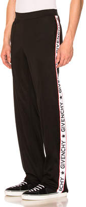 Givenchy Tape Logo Sweatpants