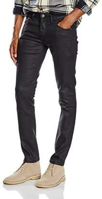 Lindbergh Men's 5 Pocket Stretch Jeans Slim Black, 34 W/34 L