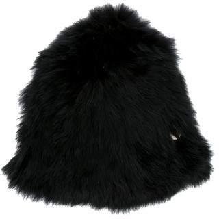 Yves Salomon Rabbit Fur Beanie w/ Tags
