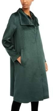 Eileen Fisher High-Collar Walker Coat